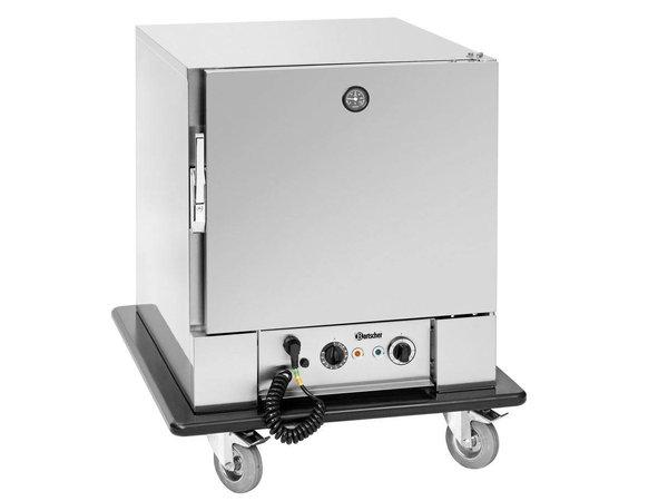 Bartscher Banketwagen | 5x2/1GN |  0 °C tot 90 °C | 650x780x(H)920mm