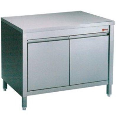 Diamond RVS Werkkast met 2 Klapdeuren | 600x700x(h)900mm