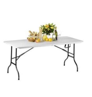 Saro DUOPACK Folding tables - 2 pieces - 183 (b) cm - HEAVY DUTY 100Kg - XXL OFFER