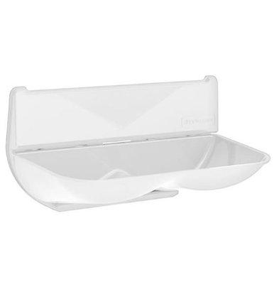 XXLselect Universele Lekbak / Wateropvangbak voor Handdrogers | ABS Polycarbonate | Wit
