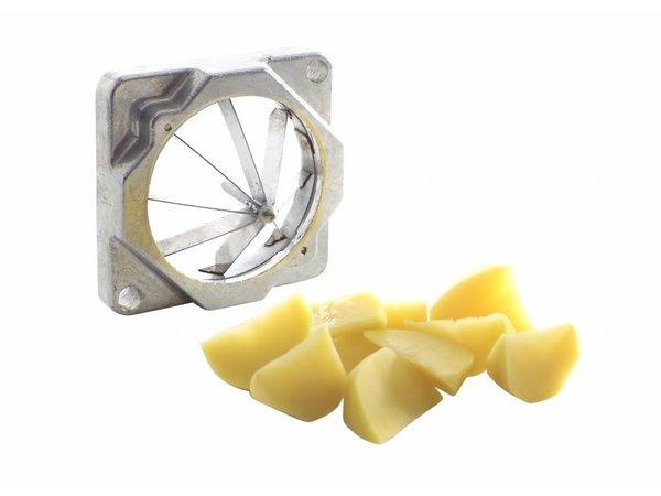Hendi Patatsnijder voor het zelf snijden van patat   Incl. 4 messen - BEKIJK VIDEO