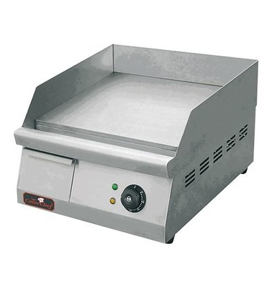 Caterchef Fry Top Electric Smooth - 42x26x (h) 27cm - 1.5 KW