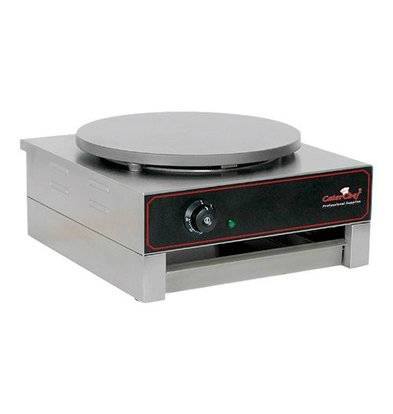 Caterchef Crepes Maker Professioneel | Enkel | Elektrisch | 3000W / 230V | 40 cm diameter
