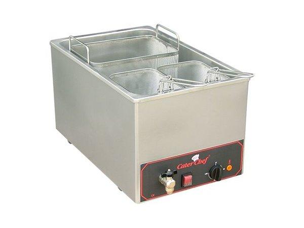 Caterchef Pastakookapparaat   18 liter   Inc 3 mandjes   3200W   230V   350x480x(H)290mm