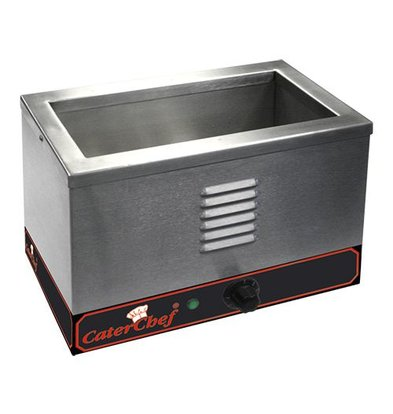 Caterchef Bain Marie | Stainless steel | 1/3 GN | 1000W | 370x220x (H) 270mm