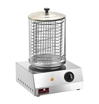 Caterchef Hot Dog Sausage Warmer - Stainless Steel - 800W - 280x270x400 (h)