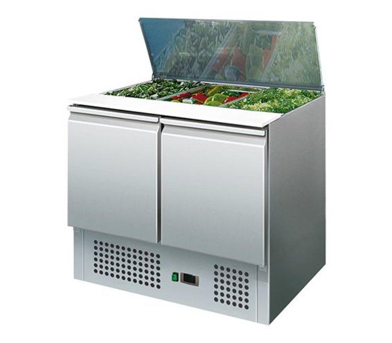 CaterCool Saladette - 90x70x(h)85cm
