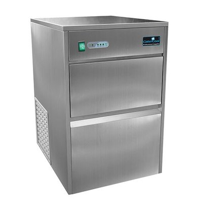 CaterCool IJsblokjes Machine 25kg/24u - Holle Transparante IJsklontjes - 8 kg voorraad