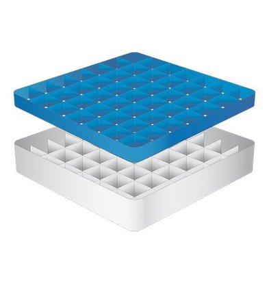 CaterRacks Foot glass basket - 49 boxes - (h) 12 cm - 6.3 cm diameter