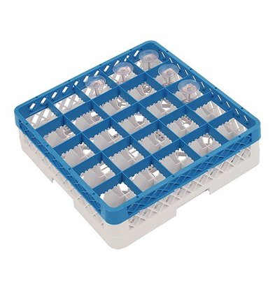 CaterRacks Foot glass basket - 25 boxes - (h) 12 cm - 9 cm diameter