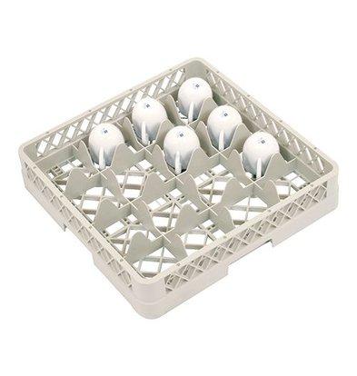 CaterRacks Beakers basket - 16 boxes - (H) 8.5 cm - 11.2 cm diameter