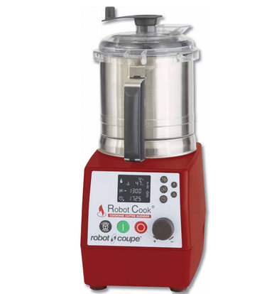 Robot Coupe Keukenmachine Robot Cook | Verwarmd tot 140°C | 3,7 Liter | 4.500 RPM