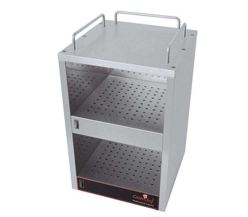 Caterchef Caterchef Kopjeswarmer Roestvrijstaal   2x 70W   320x320x(H)560mm