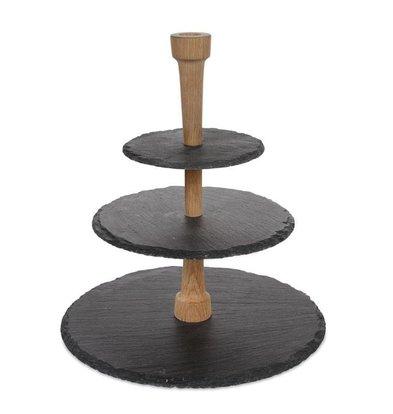 Boska Cheese Tower Slate | 385x330x75mm