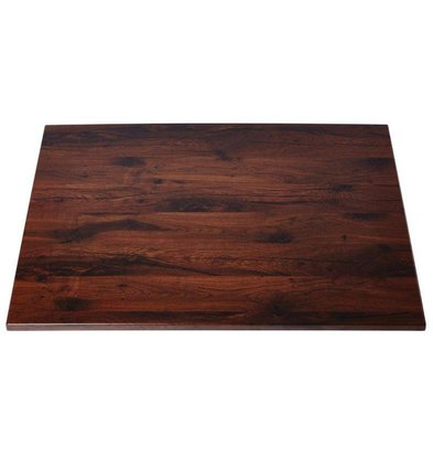Werzalit Tafelblad Werzalit | Antique Oak | 70x70cm