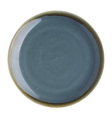 Olympia Kiln Coupe Borden Blauw | Olympia Kiln | Ø230mm | Per 6 Stuks