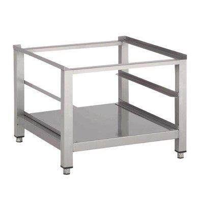 Gastro M Onderstel voor Vaatwasmachine | Incl. Onderblad en Geleider | 60x60x40(h)cm