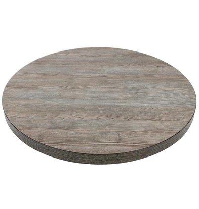 Bolero Tafelblad Vintage Wood | Ø600mm