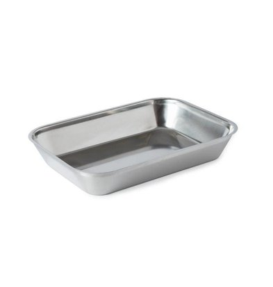XXLselect Stainless steel meat tray | 320x230x55mm