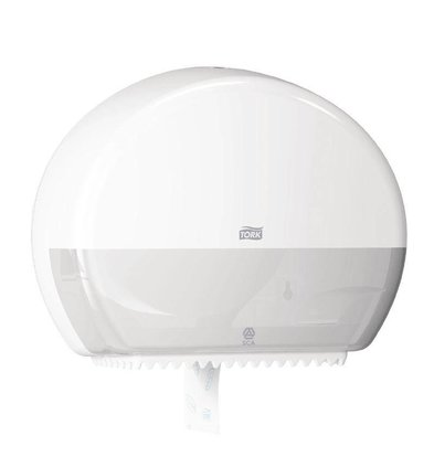 Tork Toiletroldispenser White | Tork Mini Jumbo | 345x132x275 (h) mm