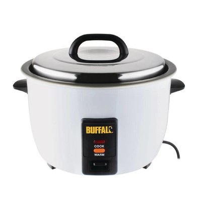 Buffalo Rice cooker 4,2ltr / 40 Servings | 1,55kW | 380x320x350 (h) mm