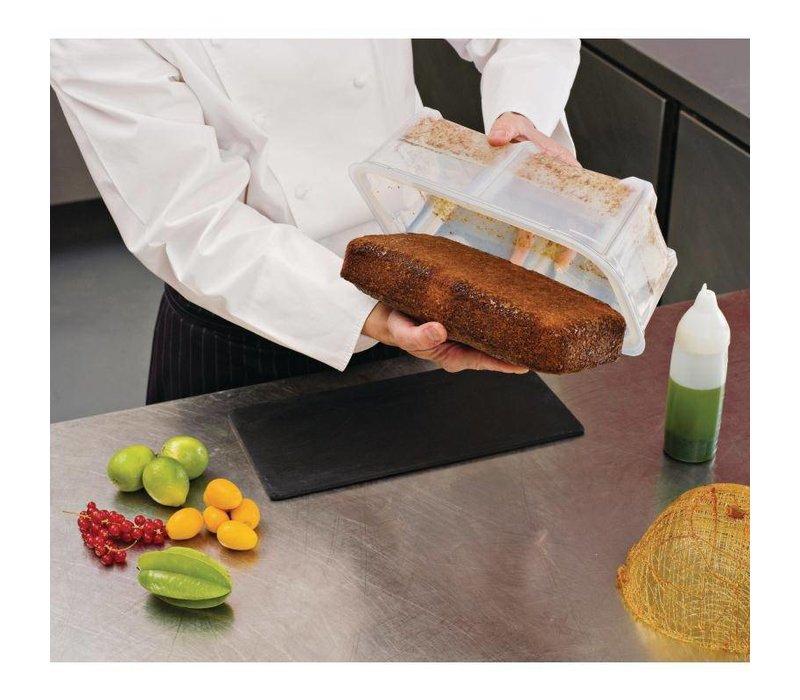 Araven Araven Siliconen Voedseldoos 9,5Ltr | GN 1/2 | Incl. Deksel