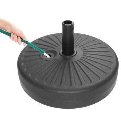 Bolero Parasolvoet Plastic | 20 Liter | Ø510x300(h)mm
