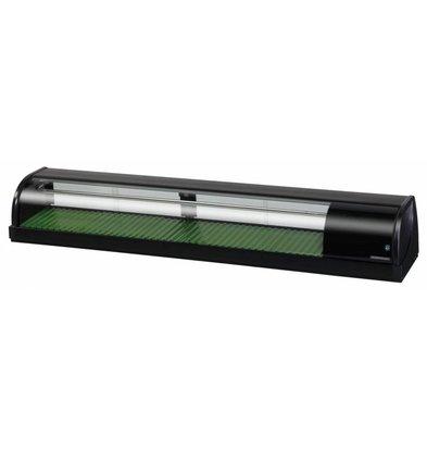 Hoshizaki Sushi Vitrine | Hoshizaki HNC-180BE | 72 Liter | 1800x345x720(h)mm
