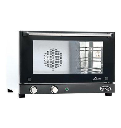 Unox Heteluchtoven - 600x580x(h)400mm - LISA-UNOX 10 - 3 x 460x330mm
