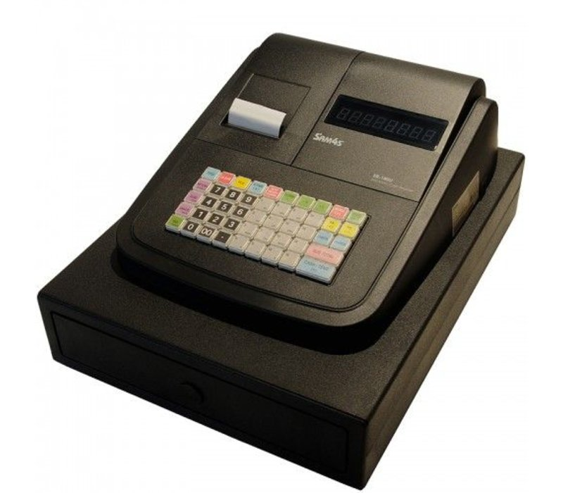 Sam4s Kassasysteem Traditioneel | Sam4s ER-180U | Thermische Printer | Numeriek Display | 16 Groepen