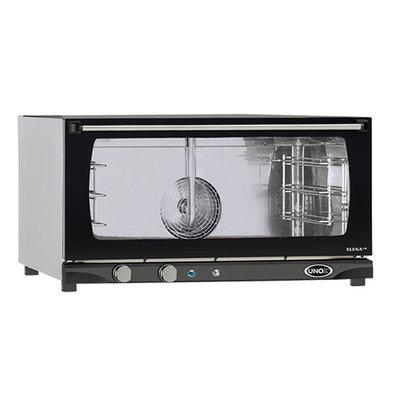 Unox Heteluchtoven - 800x770x(h)510mm - XFT183 ELENA Manual - 3 x 600x400mm
