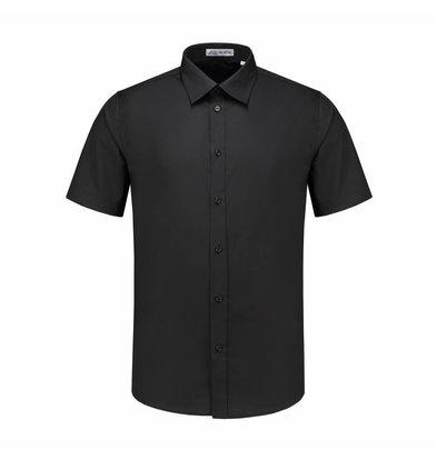 XXLselect Men's Shirt Brad Black   S to 4XL