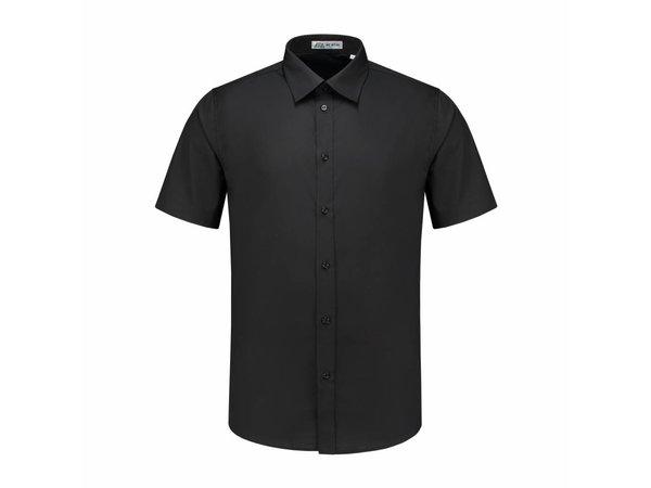 Heren Overhemd Zwart.Xxlselect Heren Overhemd Brad Zwart S T M 4xl