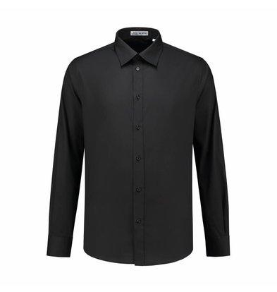 XXLselect Heren Overhemd Brandon Zwart | S t/m 4XL