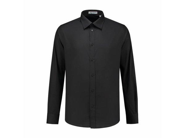 Heren Overhemd Zwart.Xxlselect Heren Overhemd Brandon Zwart S T M 4xl
