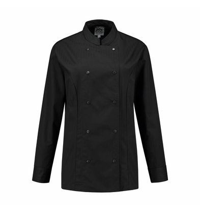 XXLselect Ladies Cookhouse Lizzy Black | XS through 4XL