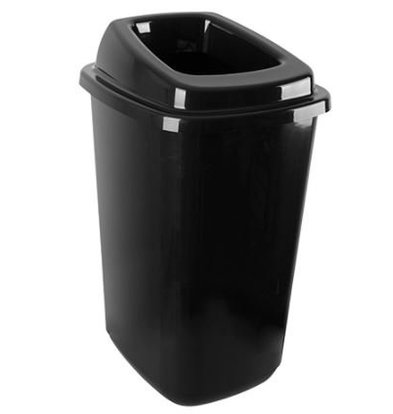Emga Waste Sorting Box 45L | Incl. Stickers | 400x340x610 (h) mm