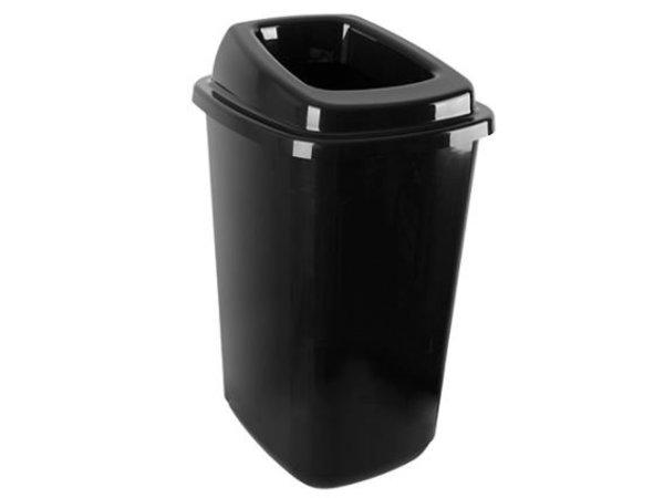 Emga Waste Sorting Box 45L   Incl. Stickers   400x340x610 (h) mm