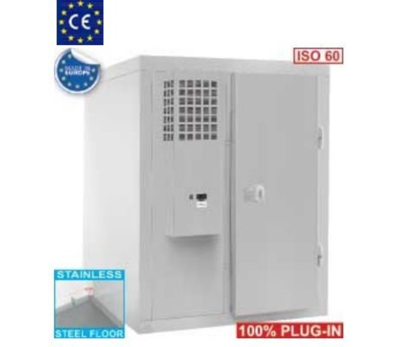 Diamond Koelcel RVS   3742 Liter   850W   1660x1360x2070(h)mm
