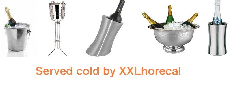 Koel zoals het hoort! – De fraaie wijnkoelers en champagnekoelers van XXLhoreca