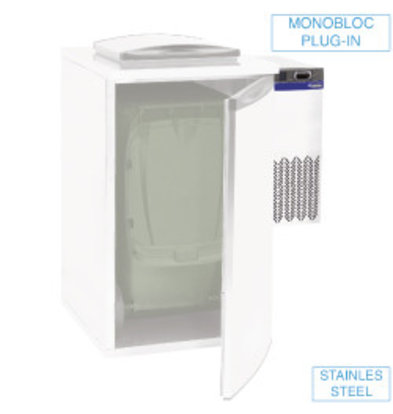Diamond Waste Cooler Unit - Single - 28x54x (h) 74cm