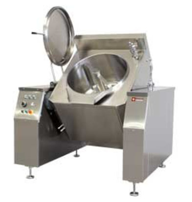 Diamond Electric tiltable boiler | With mixer 300 liter | Indirect heating | 1670x1550x (H) 1500mm