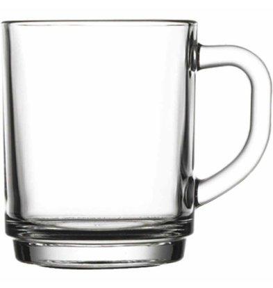 XXLselect Theekopje Glas | 250ml | Ø78x94(h)mm | Per 24 Stuks