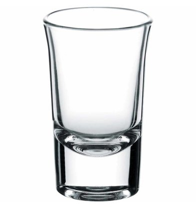 XXLselect Vodka Glas Boston Shots | 40ml | Ø44x71(h)mm | Per 24 Stuks