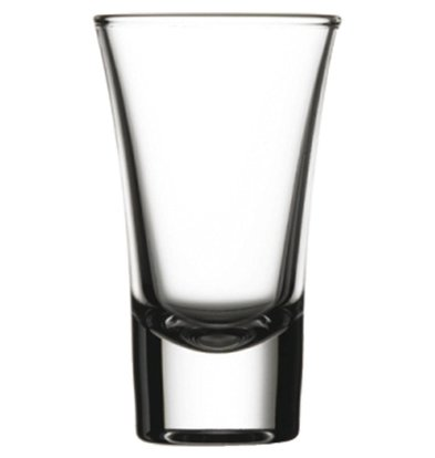 XXLselect Vodka Glas Boston Shots | 60ml | Ø52x88(h)mm | Per 24 Stuks
