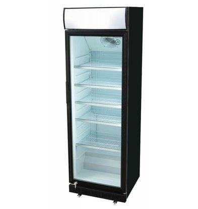 Husky Display Refrigerator Black | 360 liters | 620x640x2010 (h) mm