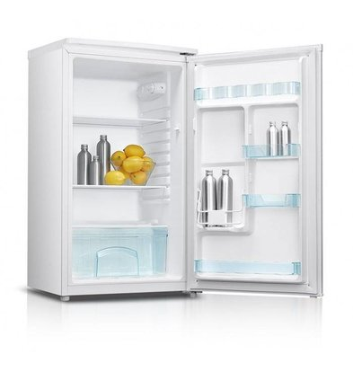 Exquisit Fridge White | 93 liters | 2 plates and 1 drawer | 480x450x850 (h) mm