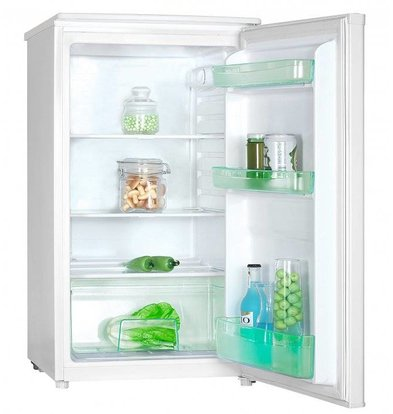 Exquisit Fridge White | 92 Liter | 2 plates and 1 drawer | 480x500x850 (h) mm