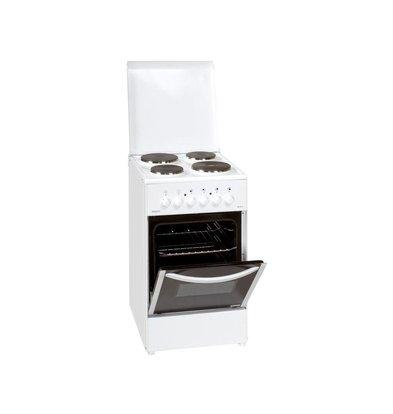 Exquisit Fornuis 4 Zones met Oven | Elektrisch | 500x550x850(h)mm