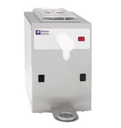 Diamond Cream Machine - 150liter / hour - 5 liter - Stainless steel